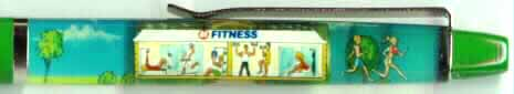 24-Hour Fitness float pen
